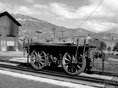 Northern Nevada Train Wagon
