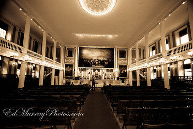 One more from the Great Hall: I have one more from Boston's Faneuil Hall.....