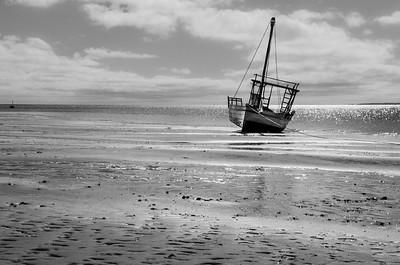 Stranded Dhow ... Bazaruto ... Mozambique