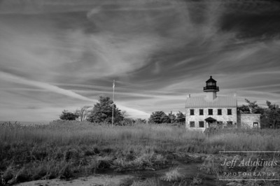 East Point Lighthouse in the Fall