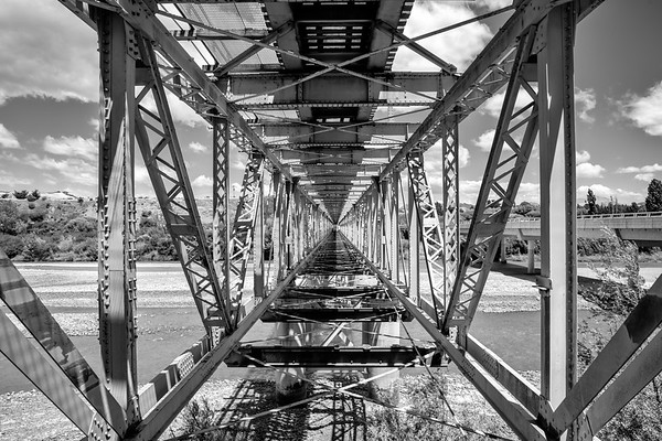 Inside a Railway Bridge