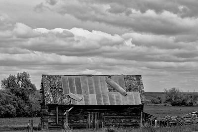 Crow Ruin in Montana