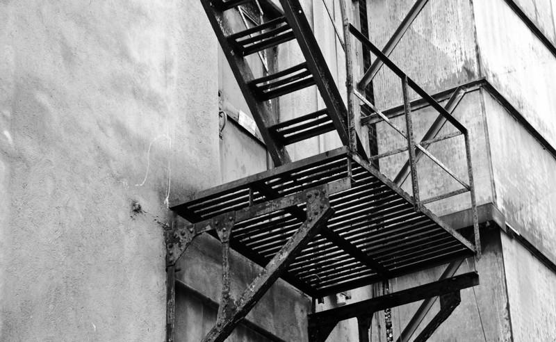 rusty platform