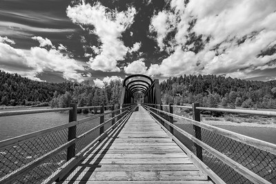 Vermillion Bridge BW