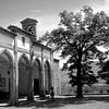 Piazza della Collegiata in Castiglion Fiorentino, Italy