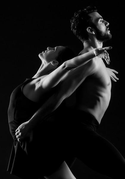 Dancers: Maria Vittoria Villa and Antonio Cangiano