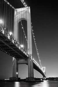 Verrazano Bridge, night