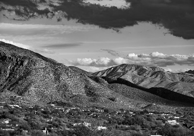'A January Afternoon,' Catalina Foothills, Tucson, AZ  2021