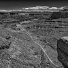 View from Shaffer Canyon Road in Canyonlands National Park, Utah