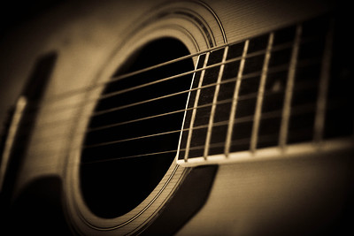 Sound Hole: I had to take one of my guitar...