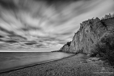 Scarborough Bluffs at Bluiffers Park, Ontario, Canada