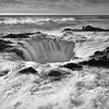 Thor's Well at high tide, Cape Perpetua, Oregon