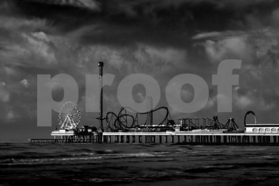 Pleasure Pier, Galveston, TX No 8291