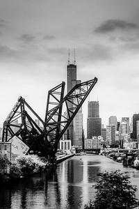 18th Street Chicago 2020 BW