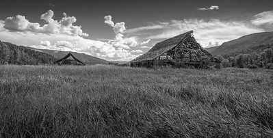 Mable Lake Barns bw