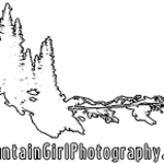 Mountain Girl Watermark [small white all outline]