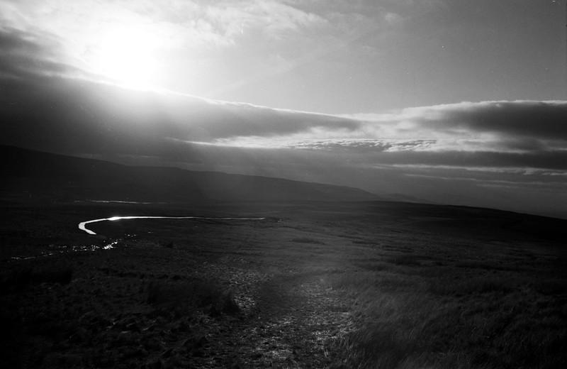 Sunlight on t'  Moor