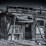 Old Jail in Salt River Canyon Fort Apache Indian Reservation