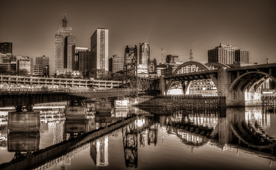 Saint Paul in Black and White