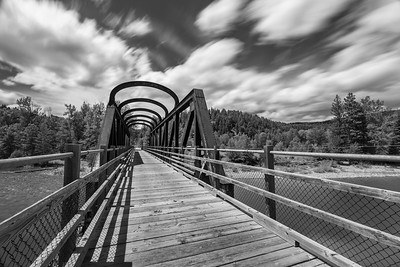 Vermillion Bridge BW Long Exposure 3