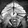 Clock at Chelsea Market in New York City.