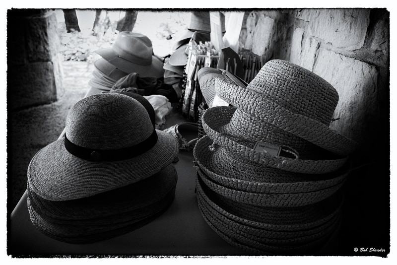 Stacks of Hats