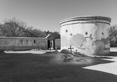 'Tumacácori Mission Cemetery,' Tumacácori, AZ. 2021