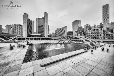Nathan Philips Square, Toronto, Ontario, Canada