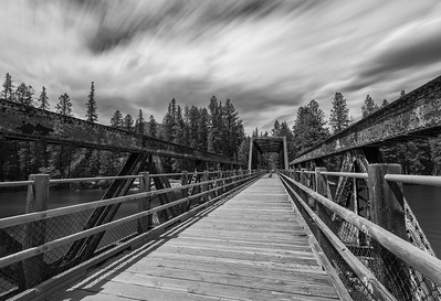 Kettle River Bridge BW Long Exposure 2