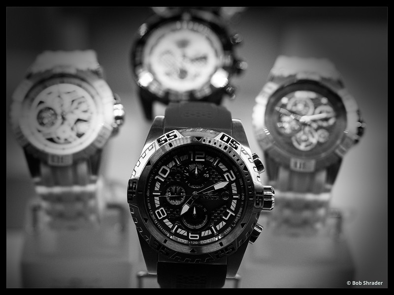 Watches in B&W