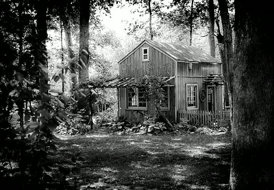 B&W tool shed