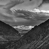 Sierra Nevadas from Tioga Pass Road in Yosemite, California