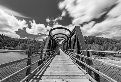 Vermillion Bridge BW Long Exposure