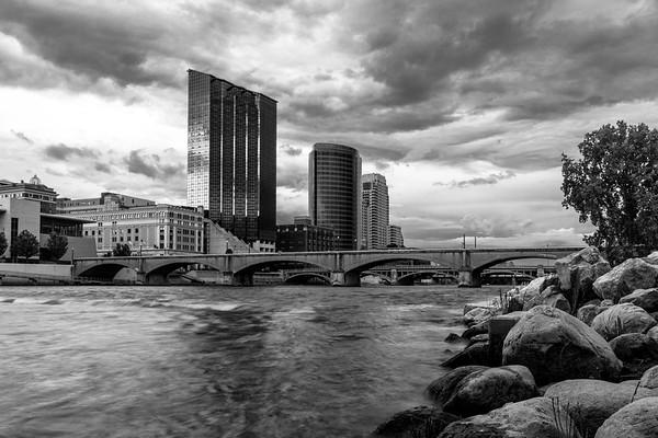 Grand Rapids Under a Menacing Sky