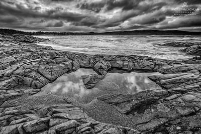Lake Superior at daybreak, Wawa, Ontario, Canada