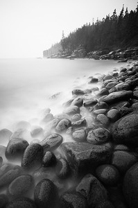 Rock Beach, Otter Cliffs, Acadia National Park, Maine