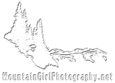 Mountain Girl Watermark [white embossed]