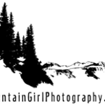 Mountain Girl Watermark [small black with glow]