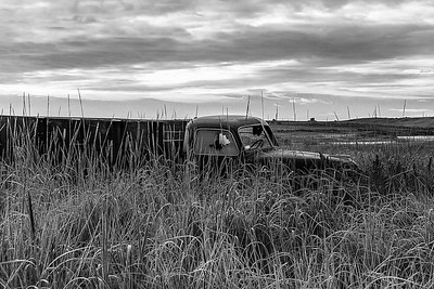 Abandoned Truck Along the Columbia