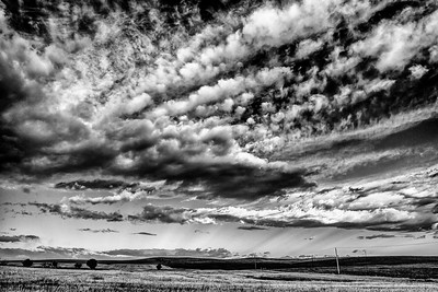 Alberta Sky and prairie