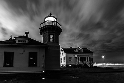 Mukilteo Lighthouse at Night