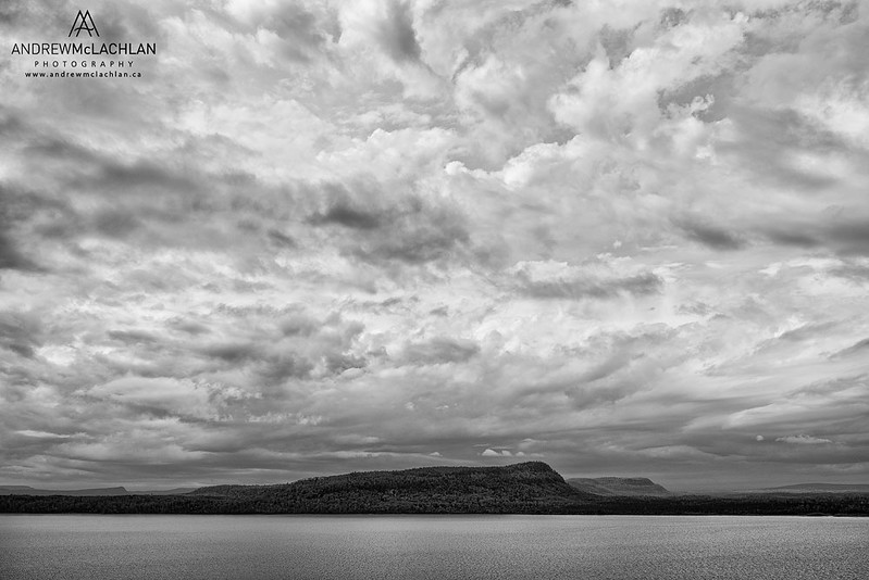 Cloud Formations Above Lake Superior, Ontario, Canada