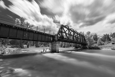 Vermillion Bridge BW Long Exposure 5