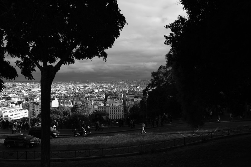 View from Montmartre | Paris, France | September 2018
