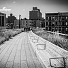 Views of High Line in New York City