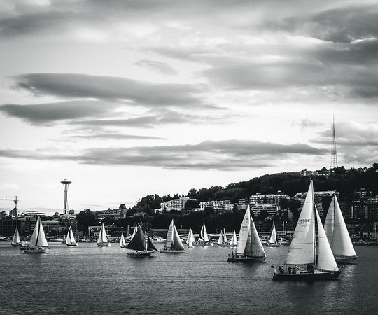 Sailing on Lake Union | Seattle, WA | June 2014