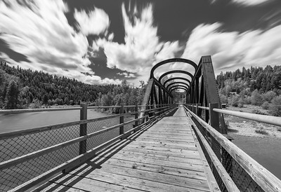 Vermillion Bridge BW Long Exposure 2