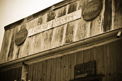 Church Hill Mississippi Some photos just scream for Black and White! These Mississippi Delta photos are no exception. Great southern buildings and architecture from our past and present. Great shot of Wagners Grocery.