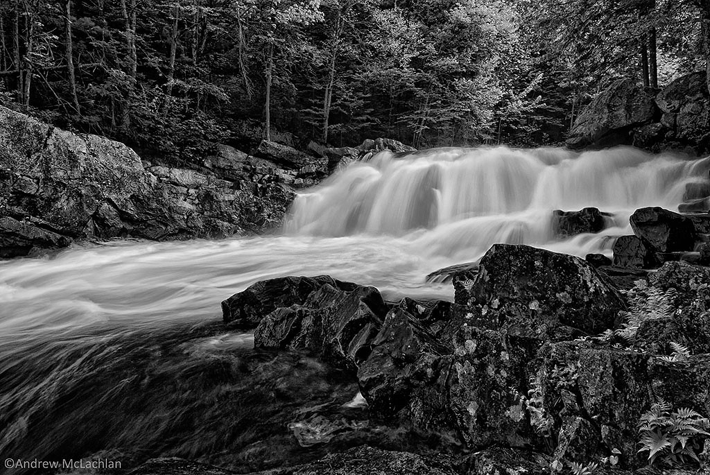 Brooks Falls on the Magnetawan River, Emsdale, Ontario