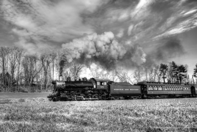 Steaming Down the Tracks